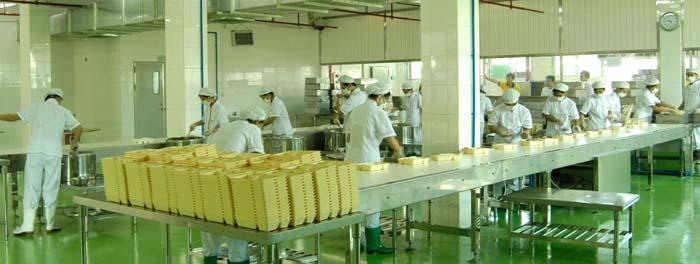 中央厨房设备使用现场