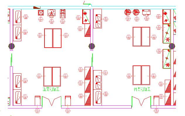 目录: 一、厨房的概念 二、厨房的分类 三、厨房的区域划分 四、厨房系统组成 五、厨房设备构成 厨房是为了满足人们的饮食需要而特定设置的用来从事烹饪活动,生产菜肴的场所。商用厨房类似餐饮行业的饭店、酒楼、餐厅以及工厂、院校、机关、部队、医院、企事业单位、火车、轮船的食堂(饭堂)等类型的厨房,该类厨房生产规模大,能够提供众多顾客同时用餐,由不同功能的工作区域或小型厨房组合而成。各工作区域或小型厨房分工明确,协调一致,承担上述企业或酒店大规模的生产出品工作。  厨房的分类: A.按厨房的规模: 1.