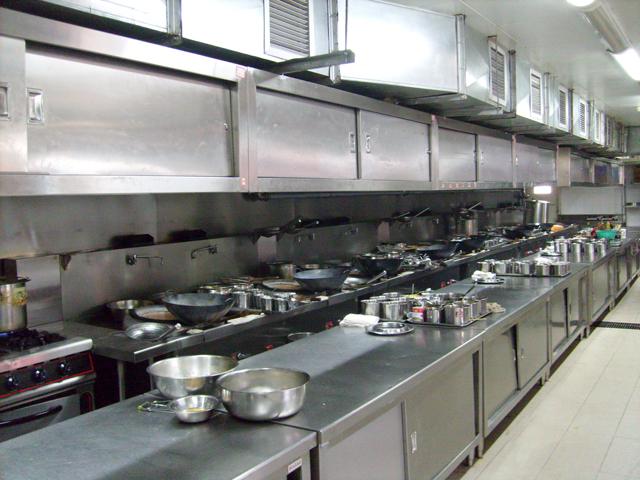 厨房设备实景