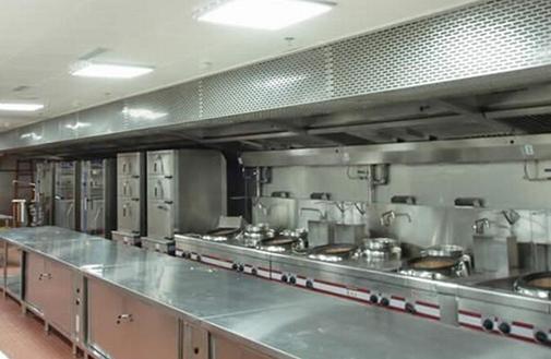 酒店厨房装修效果图-餐厅厨房设备摆放设计要点