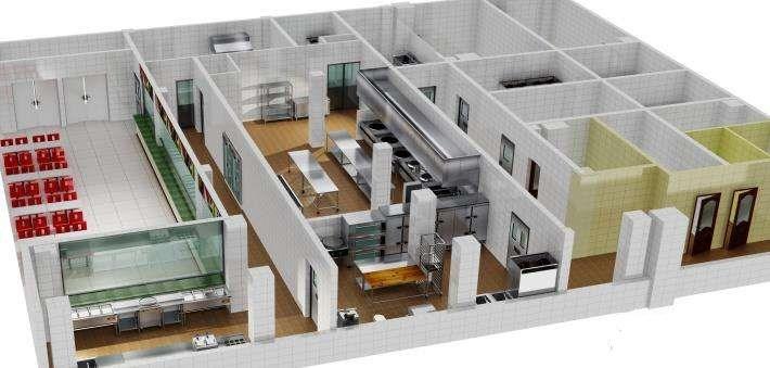 酒店厨房设计