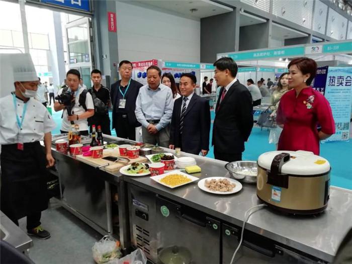 大明厨具亮相西安第二十届国际酒店用品展会